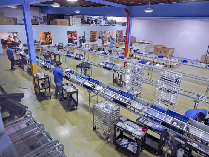 Boyce Technologies floor of manufacturing facility