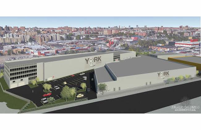 York Studios Bronx development rendering